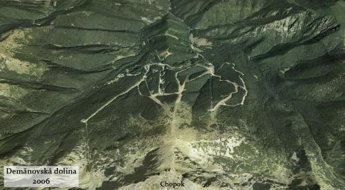Demanovska dolina v roku 2006