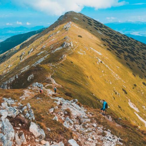 Hlavny hreben NIzkych Tatier
