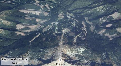 Demanovska dolina v roku 2014