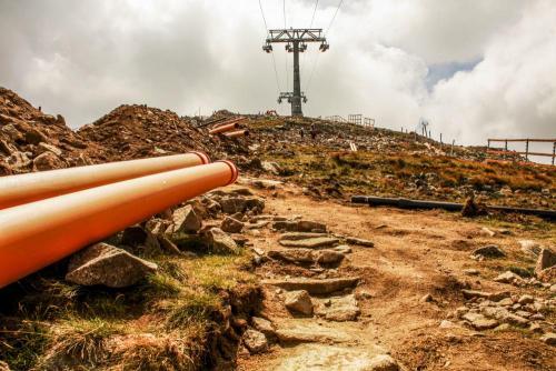 Cestou k vrcholu Chopku