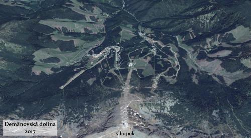 Demanovska dolina v roku 2017