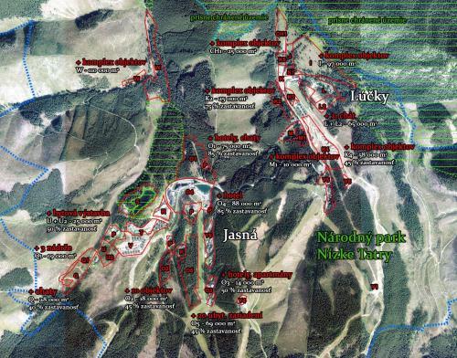 Mapa aktualnej a pripravovanej vystavby